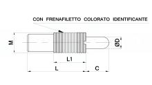 ESPULSORI A MOLLA SERIE LEGGERA cod.181
