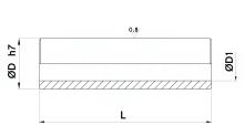 VITI A COLLETTO COMPONIBILE RETTIFICATO, DISTANZIALI RETTIFICATI cod.196