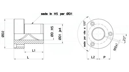 400N32B-15*29*23 su ordinazione