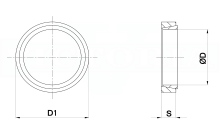 BLOCCAGGIO TOLLOK ANELLO cod.400N801