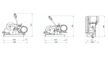 TRONCATRICE MACCHINA cod.523TM