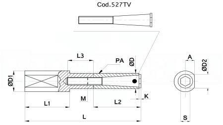 527TV-16 su ordinazione