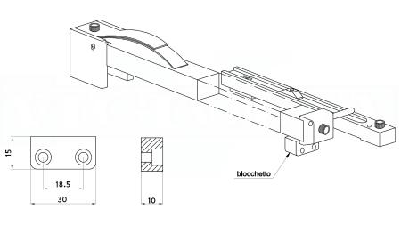 529DBL-BLOCCHETTO su ordinazione