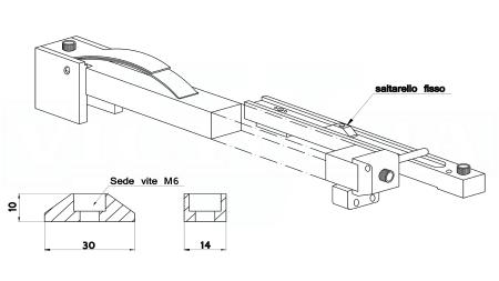 529DSF-SALTARELLO FISSO su ordinazione