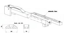 DISPOSITIVO AGGANCIO-SGANCIO PER STAMPI SALTARELLO FISSO cod.529DSF
