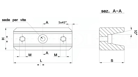 59V1F-25*50 su ordinazione