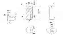 INIETTORI PER STAMPI STANDARDFLOW GTR DELLA EXAFLOW cod.67GTR