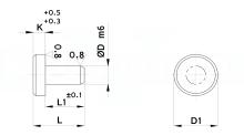 APPOGGI TAVOLINO A PIANTAGGIO cod.731