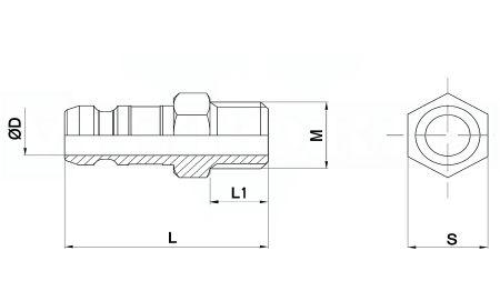 736N-6*1/4L